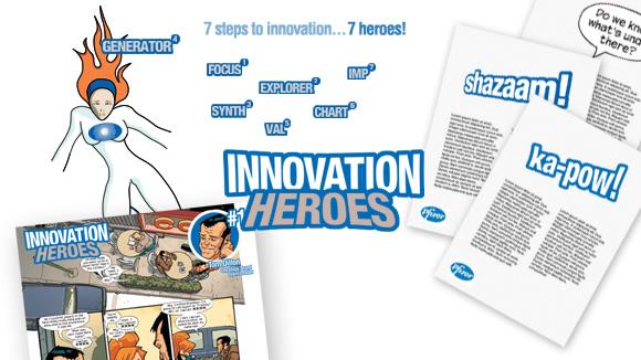 Pfizer Innovation Branding